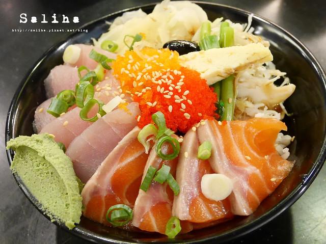 金鰭生魚片丼 (7)