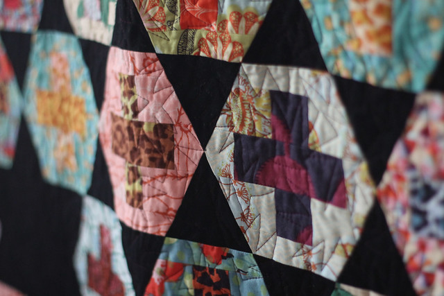 Hexy Plus Quilting detail
