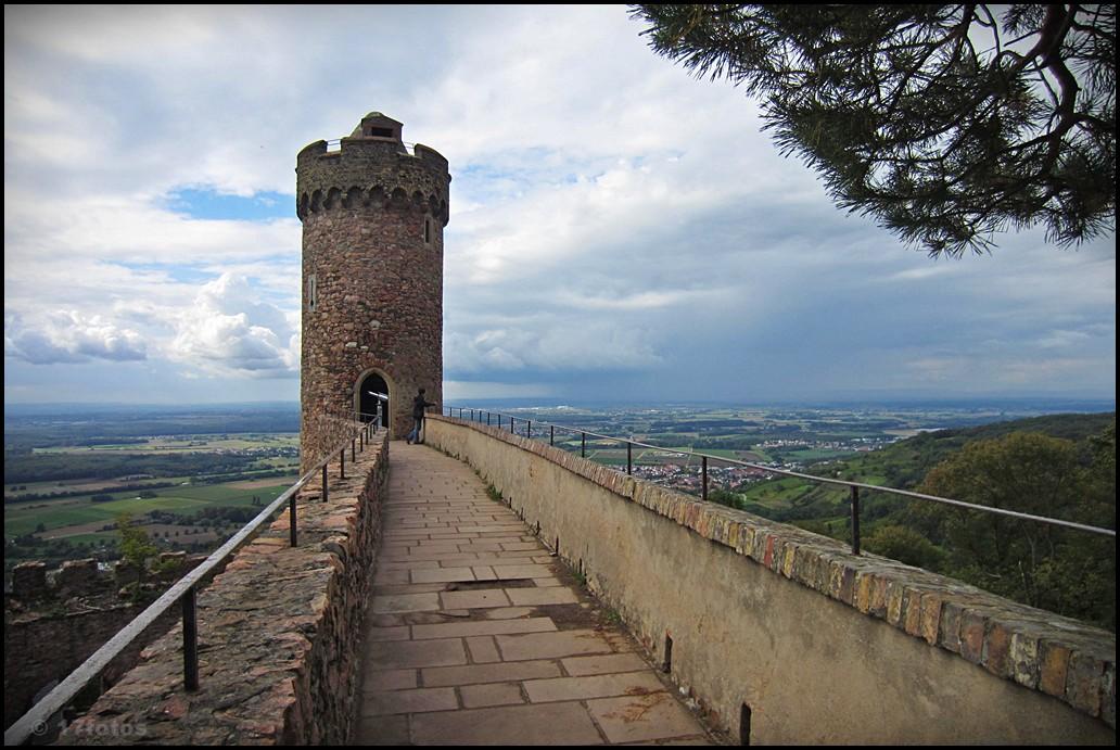 Rundblick mit Turm