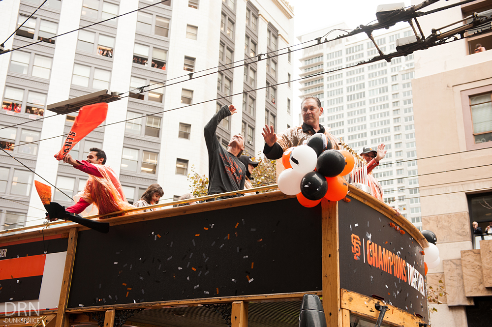 SF Giants Parade 2014