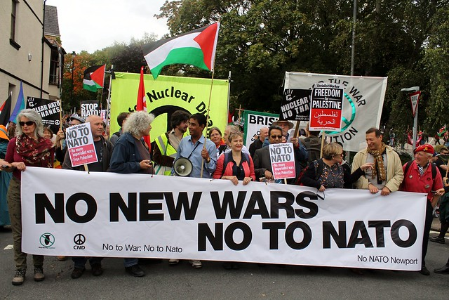 No New Wars No to NATO