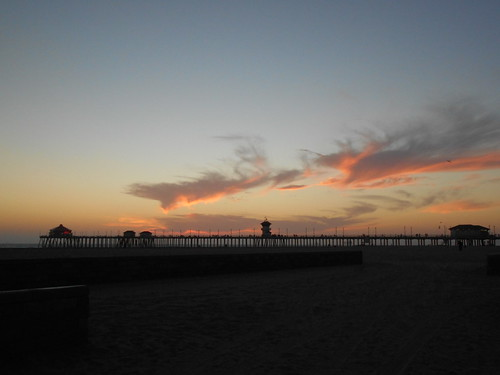 beach at sunset (2)