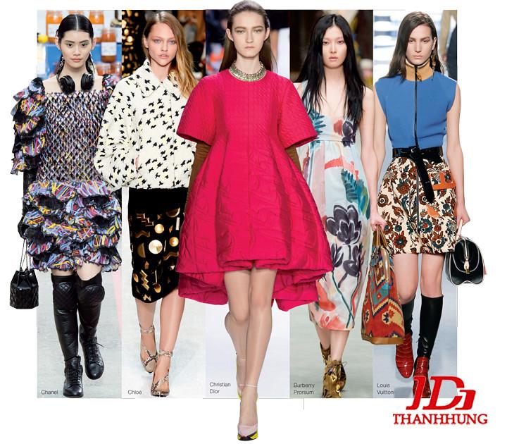 Xu hướng thời trang Thu Đông 2014/2015 cực HOT