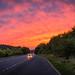 The Orange Sky by www.alexjphotography.co.uk