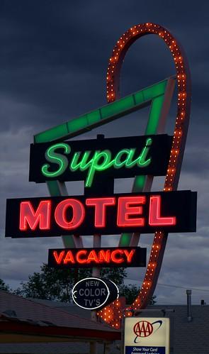 Supai Motel - Route 66, Seligman, Arizona