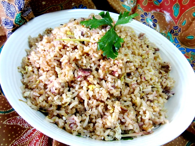 Dabai fried rice 1