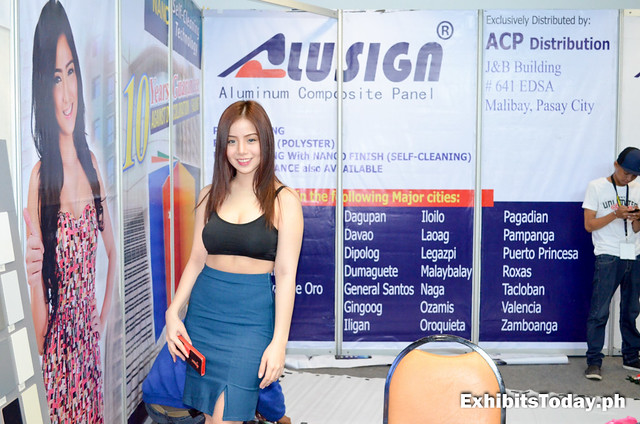 Alusign Exhibit Booth