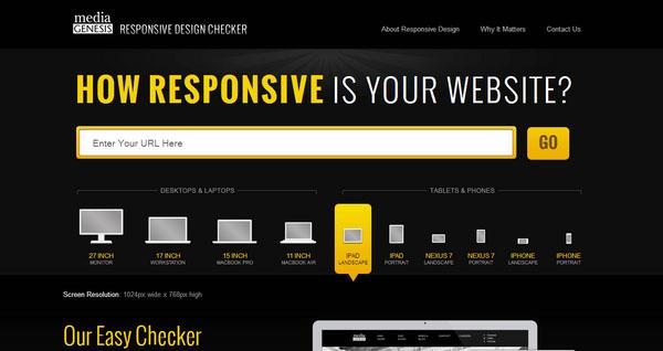 Responsiveness Checker