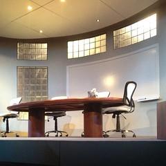 furniture, room, table, ceiling, interior design, design, office, desk, lighting,