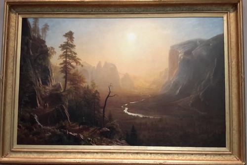 Yosemite Valley, Glacier Point Trail, by Albert Bierstadt (1873)
