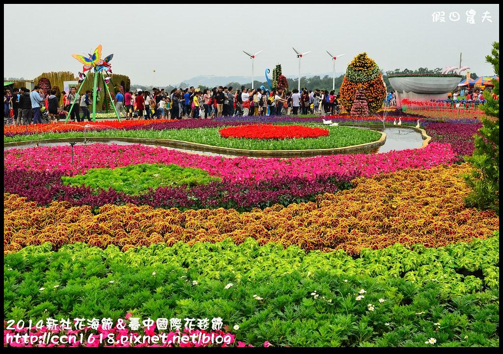 2014新社花海節&臺中國際花毯節DSC_5039