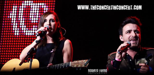 Conchita y Funambulista_@Palacio de los Deportes_ #Cadena100porellas