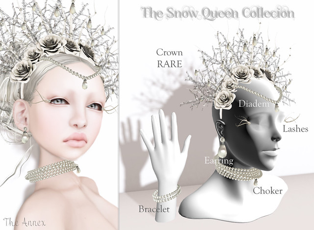 TA SNOW QUEEN COLLECTION GACHA KEY