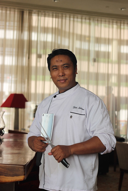 Chef Yulie Hermono