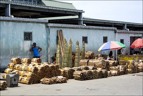 Honiara market