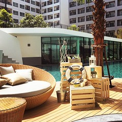 swimming pool, wood, property, deck, estate, interior design, patio, condominium,