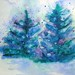wc winter trees in Snow by newmexicomtngirl (CheyAnne Sexton)