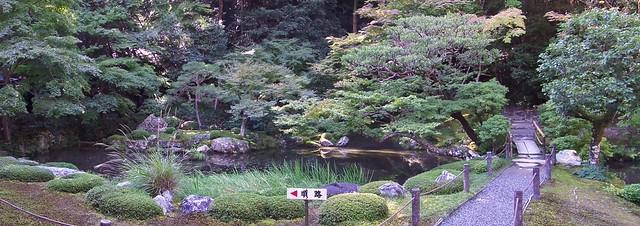 Nanzenji Temple Garden Panorama