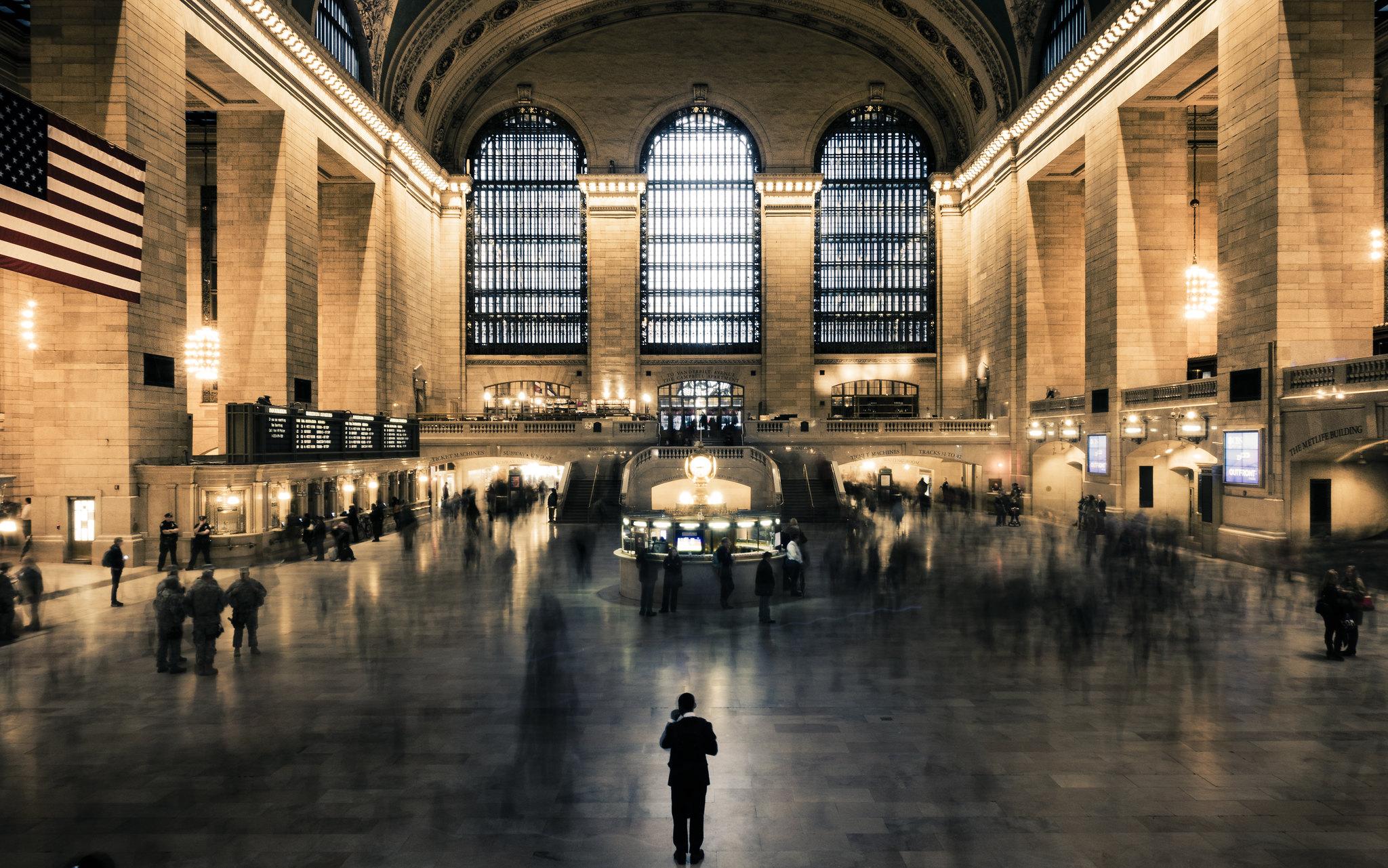 Stillness, Grand Central Terminal