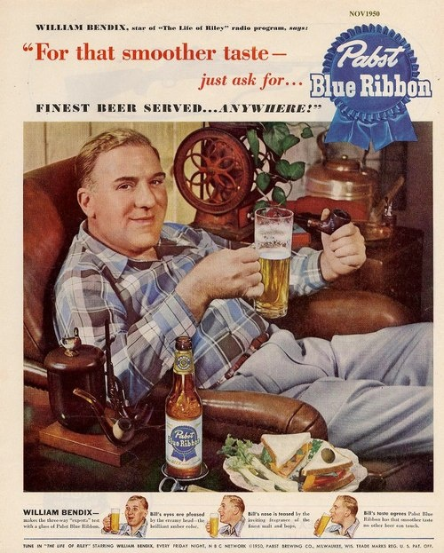pabst-1950-william-bendix