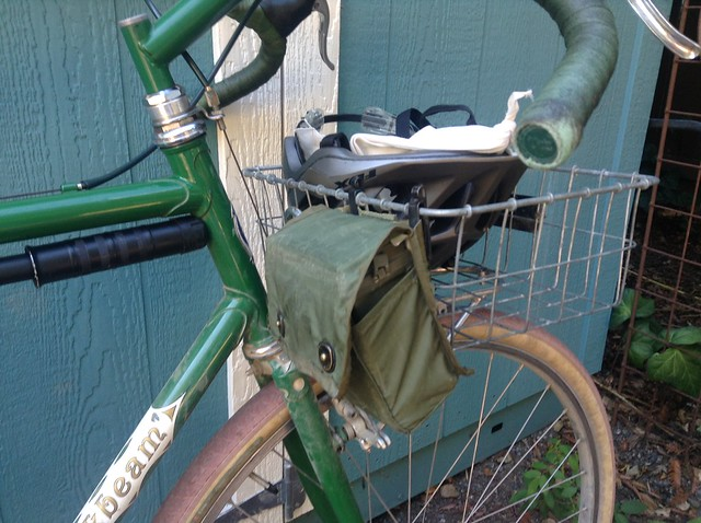 Wald Basket bike bag pouch.