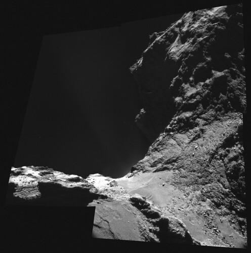 ESA Rosetta NavCam 8 ottobre 2014
