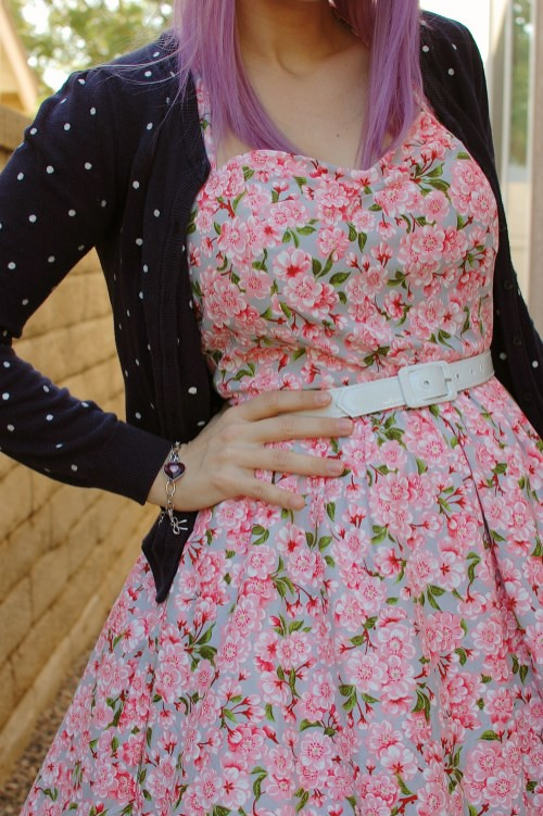 Bernie Dexter Belle dress in Pink Blossom 017