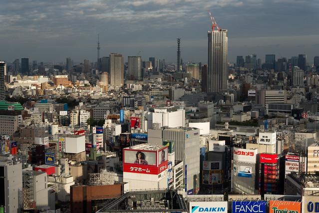 ニコンプラザ新宿からの眺め