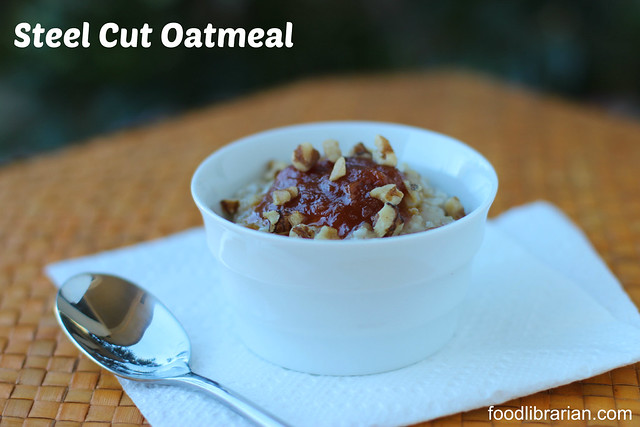 Make your own Frozen Steel Cut Oatmeal