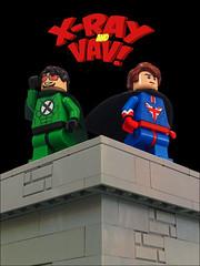 Lego X-Ray and Vav!