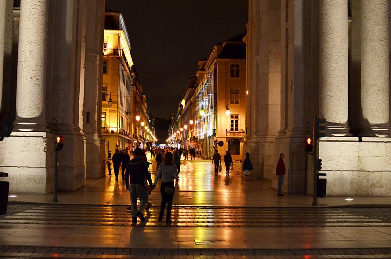 Arco da Rua Augusta, Lisbon, Portugal