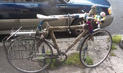 Interesting...Is this a leopard bike or a gopher bike?