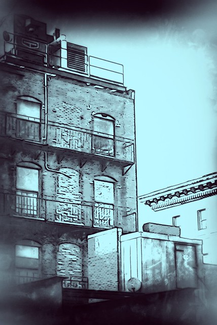 Boston Buildings Backsides