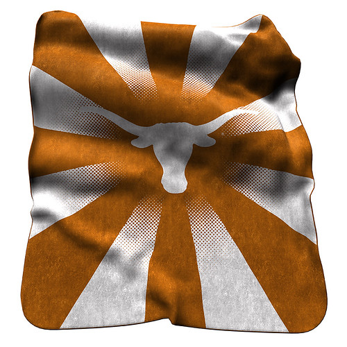Texas Longhorns NCAA Raschel Blanket
