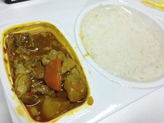 Chinese Chicken Curry Bento for Lunch