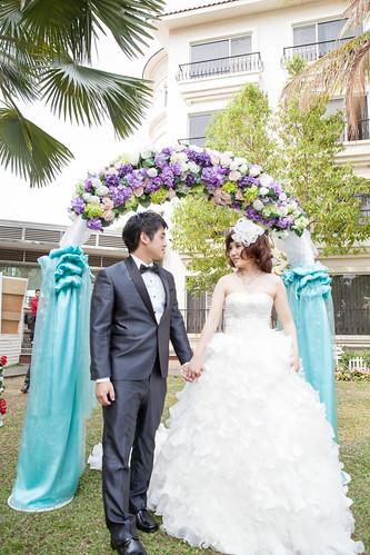 台南商務會館-一般戶外證婚儀式