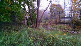 O & W Bridge Abutments Over Oneida Creek
