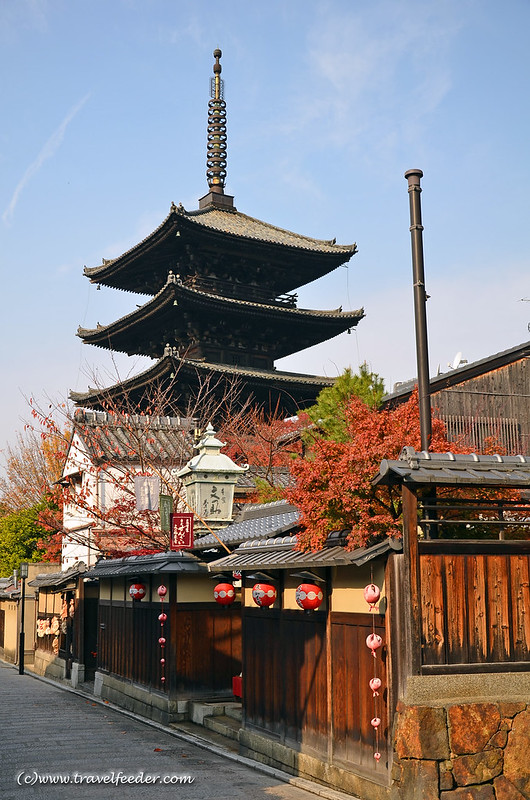 Hoganji-Yasakanoto pagoda-2