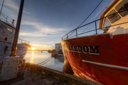 sunrise ma fishing massachusetts newbedford whalingcity fvfreedom oceansfleet