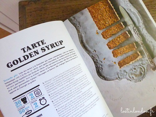 cookbook recipe golden syrup tart