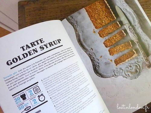 cookbook recipe golden syrup tart