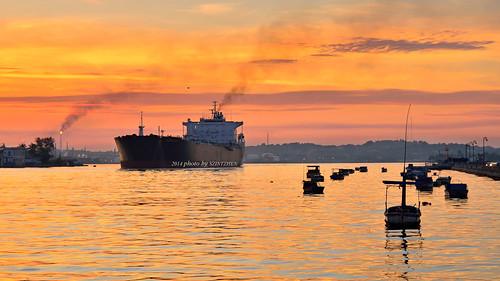 sunrise havana cuba 日出 哈瓦那 古巴 哈瓦那灣