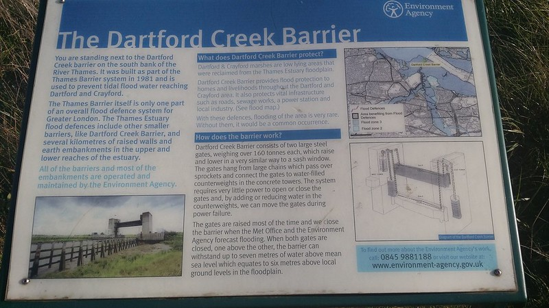 Dartford Creek Barrier #LondonLOOP #sh