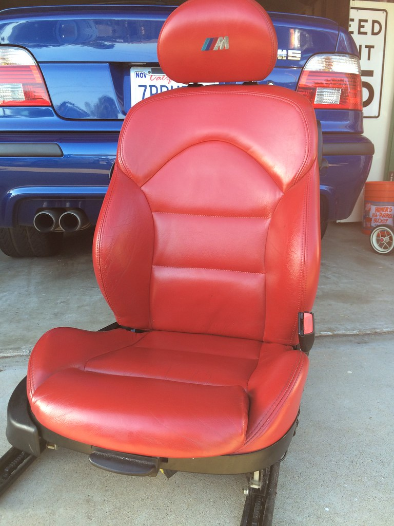 E46 M3 Coupe Red Interior Seats Panels San Diego
