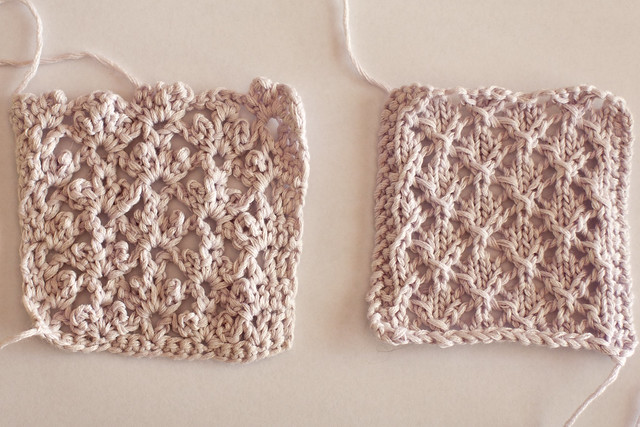 Knit Vs Crochet Comparison