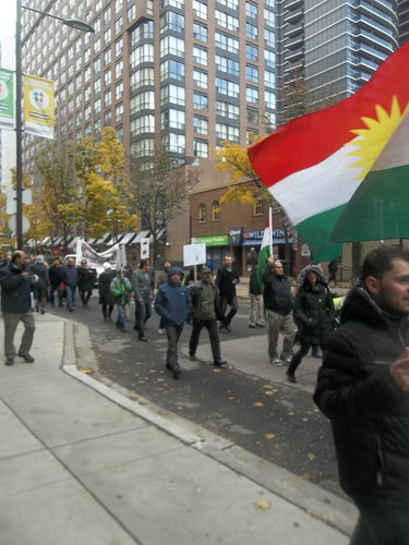 Scenes from the Kurdish protest of ISIS at Yonge and College (4)