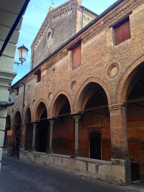 Colonnades in Padua