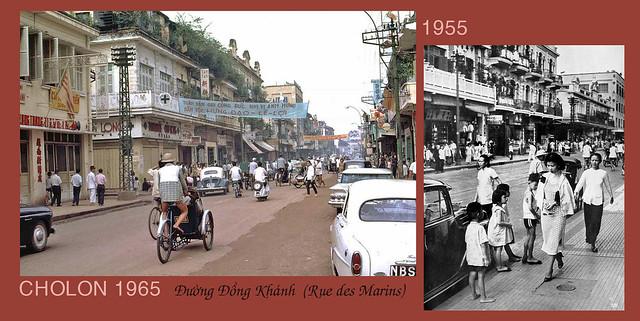 CHOLON 1965- 1955 - Đường Đồng Khánh - La Rue des Marins
