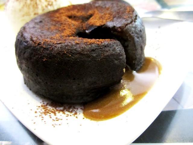 Noodle House mocha lava cake 2