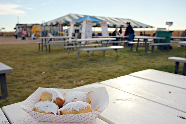Fried Oreos at Fritzler Corn Maze
